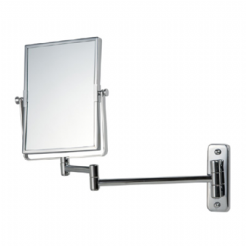 Bathroom Origins Reversible Square Frame Magnifying Wall Mirror - 055153